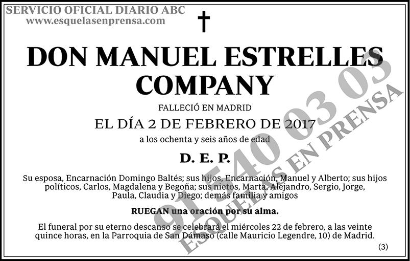 Manuel Estrelles Company